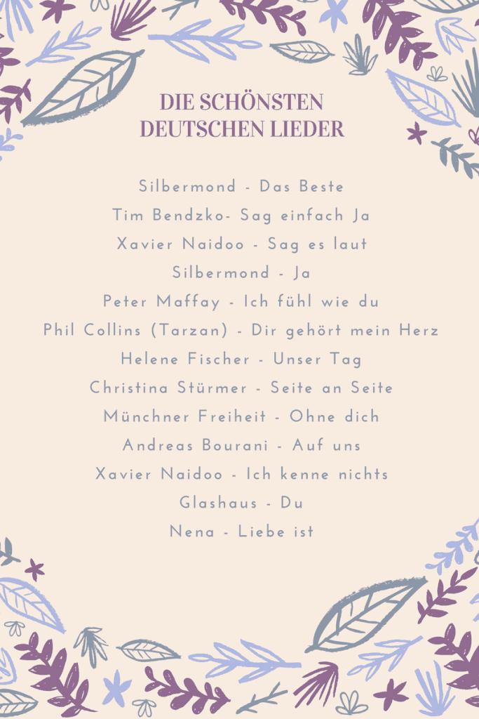 10 schönsten deutschen lieder