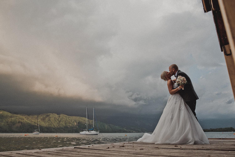 Romantische DIY Hochzeit am Attersee