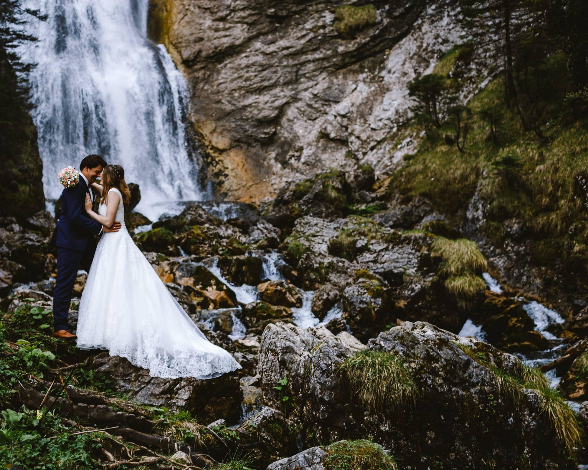 Kreative DIY Hochzeit mit freier Trauung