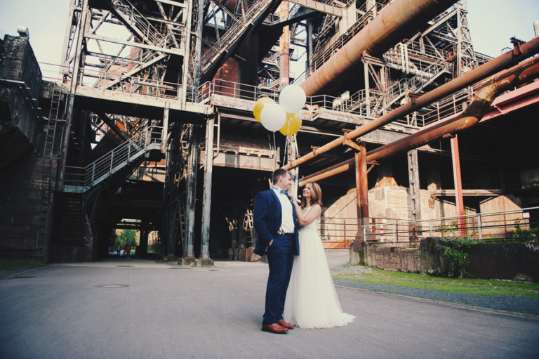Michaela und Johannes: Ein After Wedding Shooting mit Industriecharme