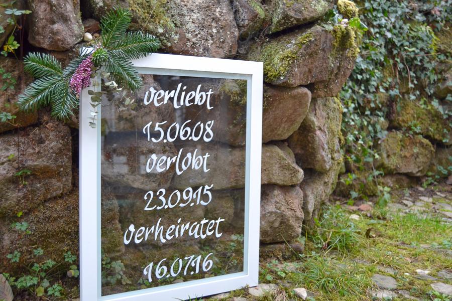 Schilder zur Hochzeit auf Glas_0395