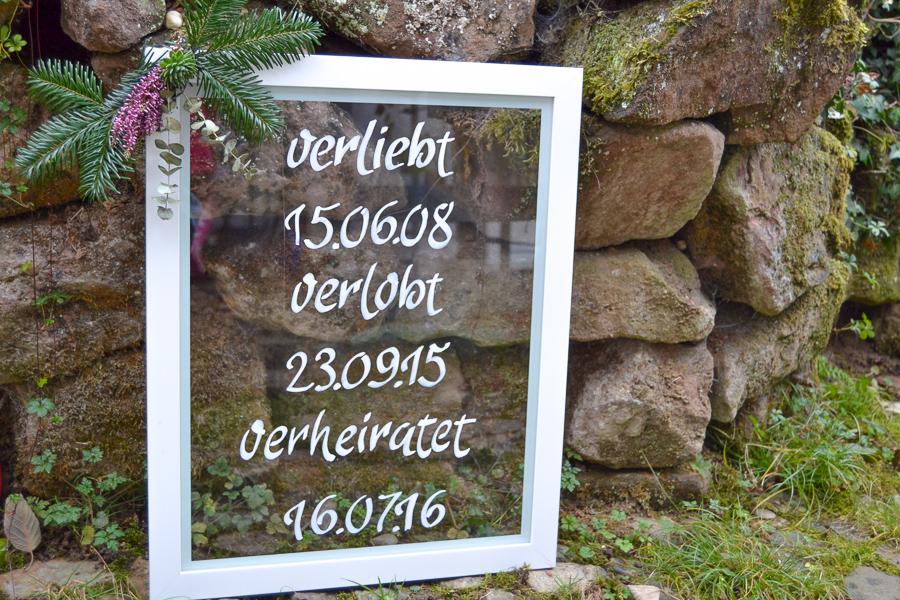 Schilder zur Hochzeit auf Glas_0406