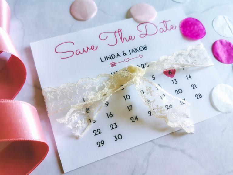 DIY Save The Date Karte – Freebie