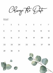Change the Date_Eukalyptus(2)