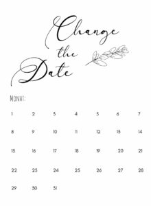 Change the Date_Eukalyptuszweig